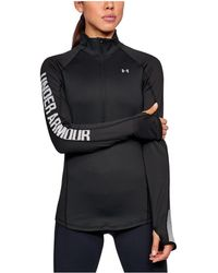 Under Armour - Women's Coldgear® Armour 1/2 Zip - Lyst