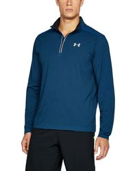 Under Armour - Men's Ua Threadborne Streaker 1⁄4 Zip - Lyst