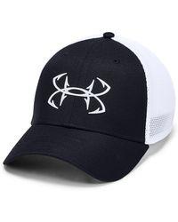 09a0217100f Lyst - Under Armour Men s Ua Fish Hook Camo Adjustable Cap for Men
