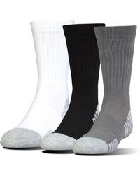 Under Armour - Ua Heatgear® Tech Crew Socks - Lyst