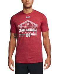 Under Armour - Men's Wisconsin Stadium Tri-blend T-shirt - Lyst