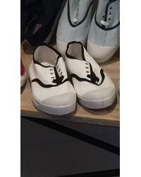 Bensimon - Gros Grains Tennis - White Color - Lyst
