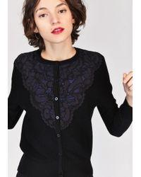 Tara Jarmon - Embroided Sweater - Lyst