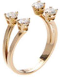 Delfina Delettrez - Ring 'Dots' mit Diamanten und Gold - Lyst