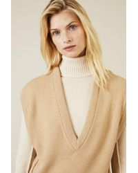 Chloé - Cashmere-Woll-Pullover Braun 100% Cashmerewolle - Lyst
