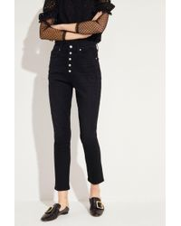 Citizens of Humanity - High Rise Jeans 'Olivia' Schwarz - Lyst