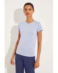 Vince - Klassisches Shirt Blau - Lyst