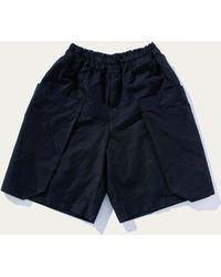 Comme des Garçons - Boiled Poly Cargo Shorts - Lyst