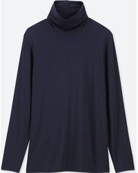 Uniqlo - Women Heattech Extra Warm Turtleneck T-shirt - Lyst