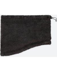 Uniqlo - Heattech Furry Fleece Neck Warmer - Lyst