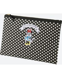 Uniqlo - Women Disney (minnie Mouse Loves Dots) Clutch Bag - Lyst