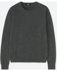 Uniqlo - Women Cashmere Crew Neck Sweater - Lyst