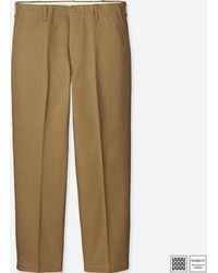 Uniqlo - Men U Wide-fit Tapered Ankle Chino - Lyst