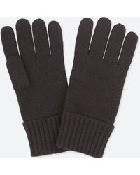 Uniqlo - Cashmere Knitted Gloves - Lyst