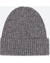 Uniqlo - Ribbed Beanie - Lyst