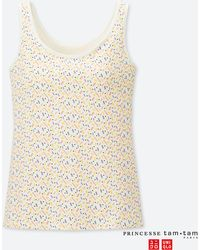 18a83137c3219 Uniqlo - Women Princesse Tam.tam Bra Sleeveless Top - Lyst