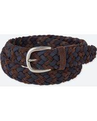 Uniqlo - Men Leather Suede Mix Mesh Belt - Lyst
