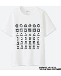 afabe5bb8 Uniqlo Sprz Ny Short Sleeve Graphic T-shirt (niko Luoma) in White - Lyst