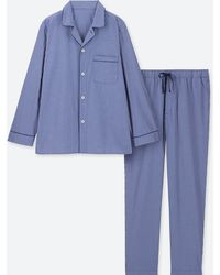 Uniqlo - Men Long-sleeve Pajamas - Lyst