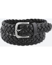 Uniqlo - Leather Wide Mesh Belt - Lyst