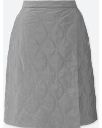 Uniqlo - Women Windproof Warm-lined Wrap Skirt (online Exclusive) - Lyst