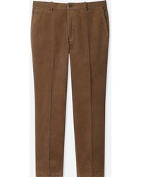 Uniqlo - Men Ezy Ankle-length Pants (corduroy) - Lyst