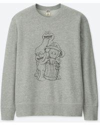 Uniqlo - Kaws X Sesame Street Sweatshirt - Lyst