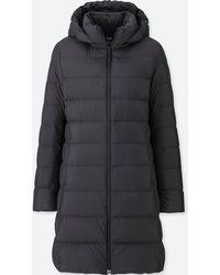 Uniqlo - Women Ultra Light Down Hooded Coat - Lyst