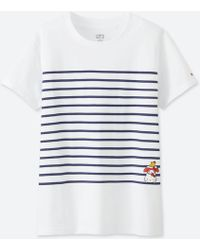 67f80fd75 Lyst - Uniqlo Women Sanrio Characters Short-sleeve Graphic T-shirt ...