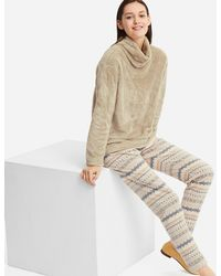 Uniqlo - Fleece Set (long Sleeve) (fairisle) - Lyst