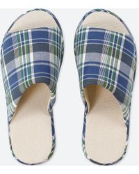 Uniqlo | Madras Slippers | Lyst