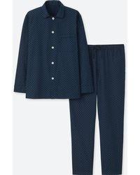Uniqlo - Long Sleeve Pyjamas - Lyst