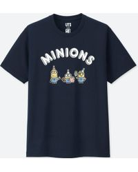 Uniqlo - Men Minions Short-sleeve Graphic T-shirt - Lyst