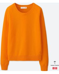 Uniqlo - Women Cashmere Crewneck Sweater - Lyst