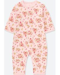 Uniqlo - Newborn Long-sleeve One-piece Outfit - Lyst