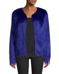 Unreal Fur - Dream Faux Fur Jacket - Lyst