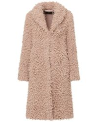 Unreal Fur - De La Cream Coat - Lyst