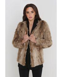 Unreal Fur - Blond On Blond Jacket - Lyst