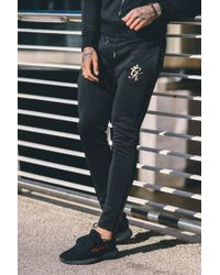 Gym King - Tapered Poly Tracksuit Bottoms - Lyst
