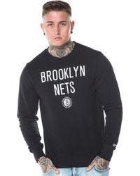 KTZ - Brooklyn Nets Tip Off Crew Neck - Lyst