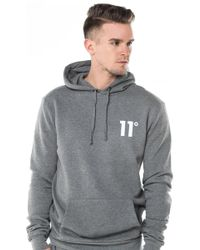 11 Degrees - Core Pull Over Hoodie - Lyst