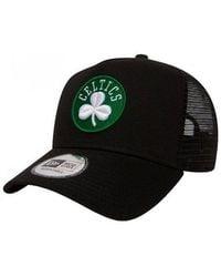 KTZ - Boston Celtics Reverse Team Trucker - Lyst