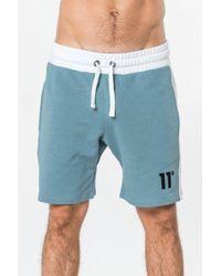 11 Degrees - Block Sweat Shorts - Lyst