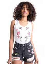 Sixth June - Women's Roses Wasps Body Suit - Lyst