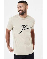 Jameson Carter - Jc Velour Flock T-shirt - Lyst