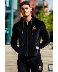 Lyst - Gym King Lombardi Tracksuit Bottoms in Black for Men 15aaebf634de