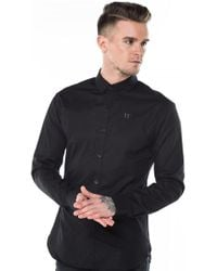 11 Degrees - Long Sleeve Shirt - Lyst