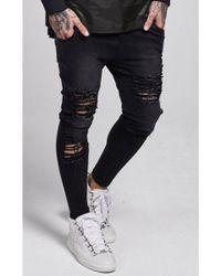 Illusive London - Skinny Jeans - Lyst
