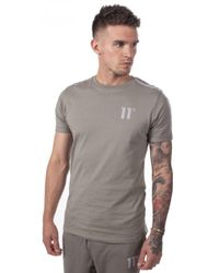 a26523164cc4 Lyst - 11 Degrees Heat Wave Cuff T-shirt in Red for Men