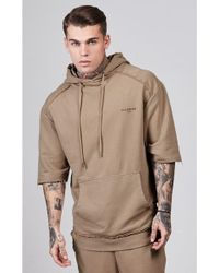 Illusive London - Antique Wash Overhead Hoodie - Lyst
